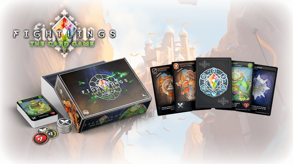 Fightlings Card Game Banner