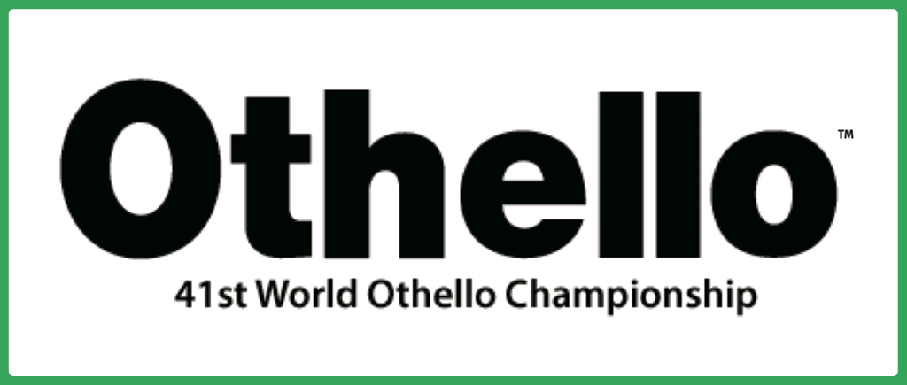 Coming Up Soon: The 41st World Othello Championship