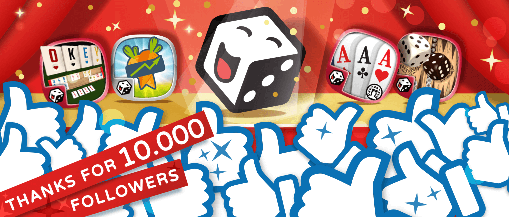 Thank you for 10,000 followers on Facebook!