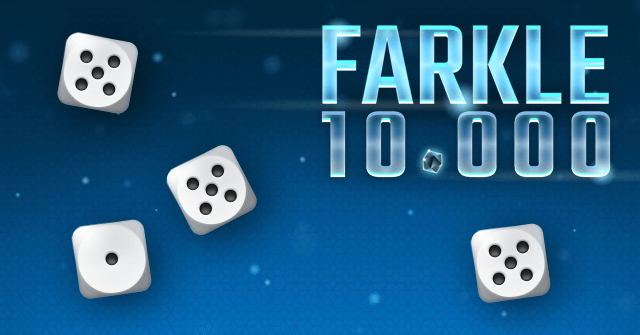 Dice, Lightning, Diamonds: Farkle (10,000)