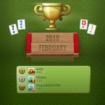 Okey Top 3 - Feb 2019