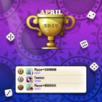 Yatzy Top 3 - Apr 2019