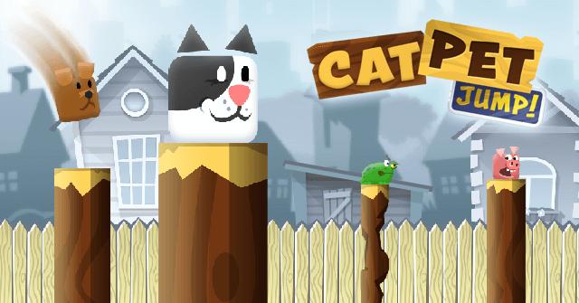 Cat Pet Jump! Right Into It