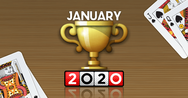 Leaderboards Update and Top 3 January 2020