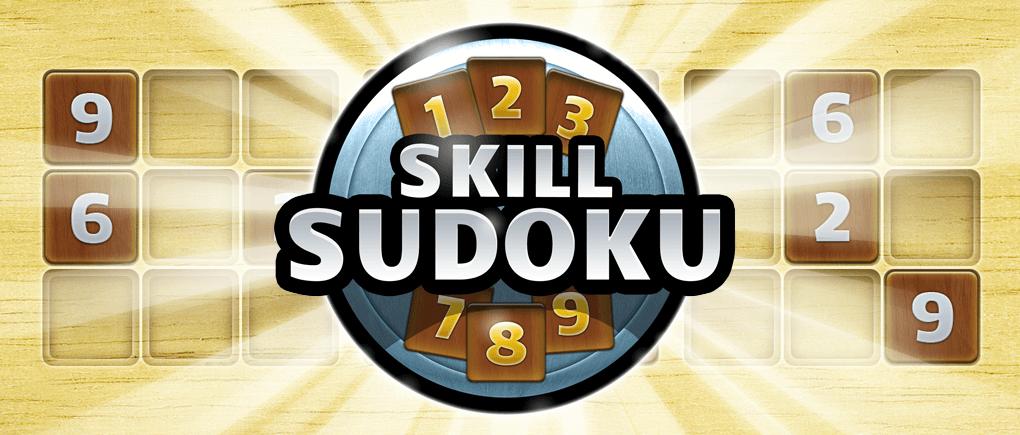 Skill Sudoku Header