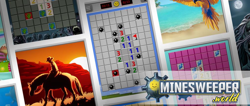 Minesweeper.World Header