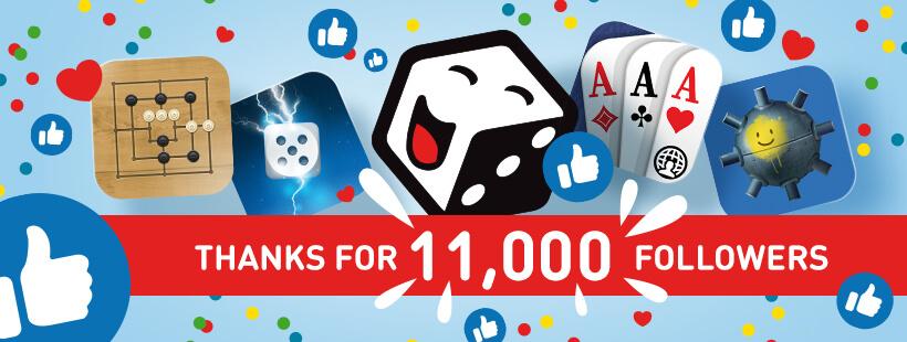 11K on Facebook
