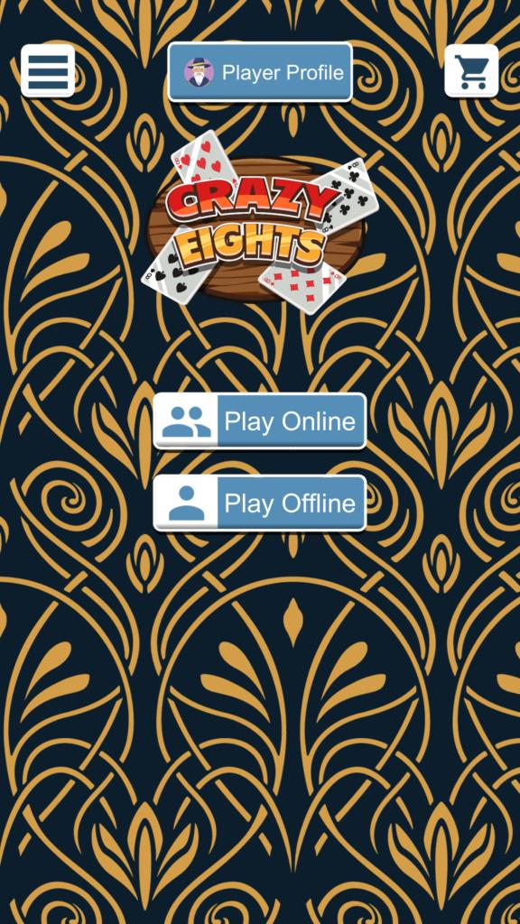 Crazy Eights Menu